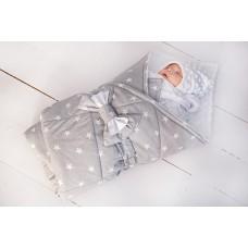 """Конверт-одеяло """"Звездочки"""" демисезон"""